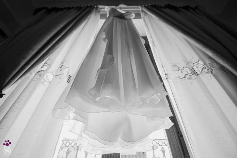 VESTIDO NOVIA FOTOS boda civil ALCAUDETE