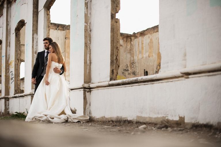 Fotos de boda en Ruinas Jaén Granada